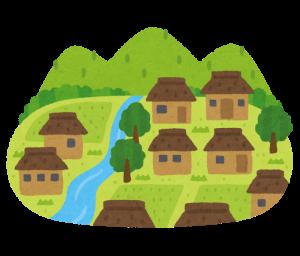 田舎のイラスト