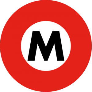 丸ノ内線のロゴ