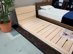 インテリアサミットのベッド