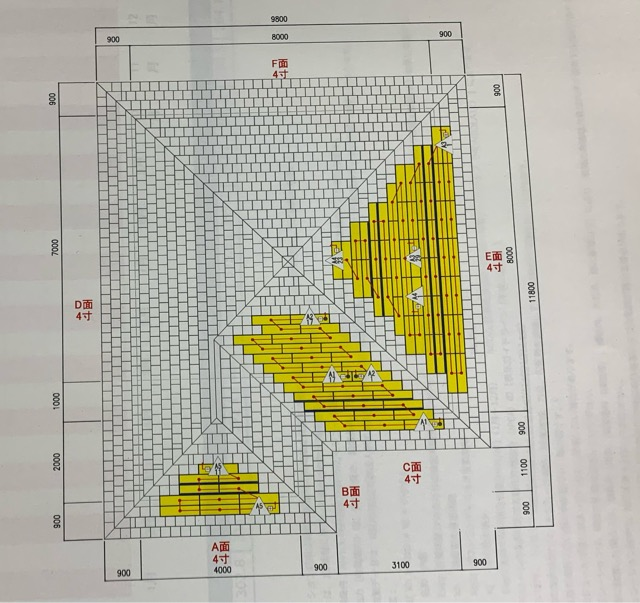 積水ハウスのソーラーパネルの図面