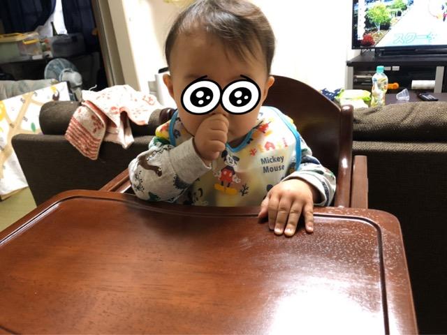 KATOJIのチェアと赤ちゃん