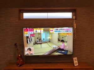 エコカラットとテレビ