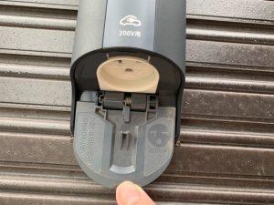 EV充電コンセントの形