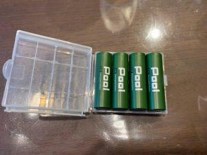 POOLと電池ケース