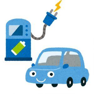 EV充電のイラスト