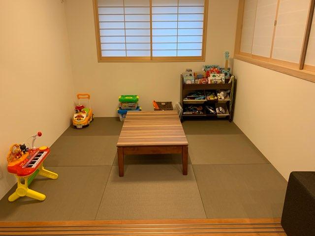 我が家の和室(樹脂畳)