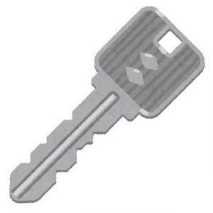 ギザギザの鍵